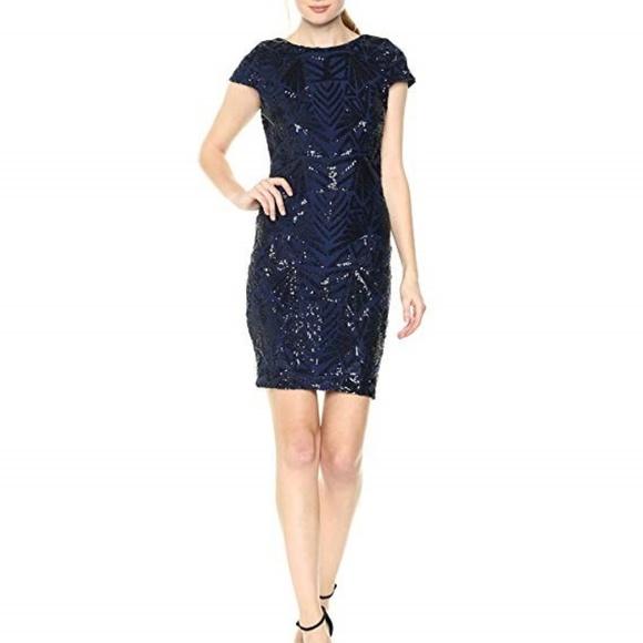 Dress the Population Dresses & Skirts - Dress The Population sequin short dress Large